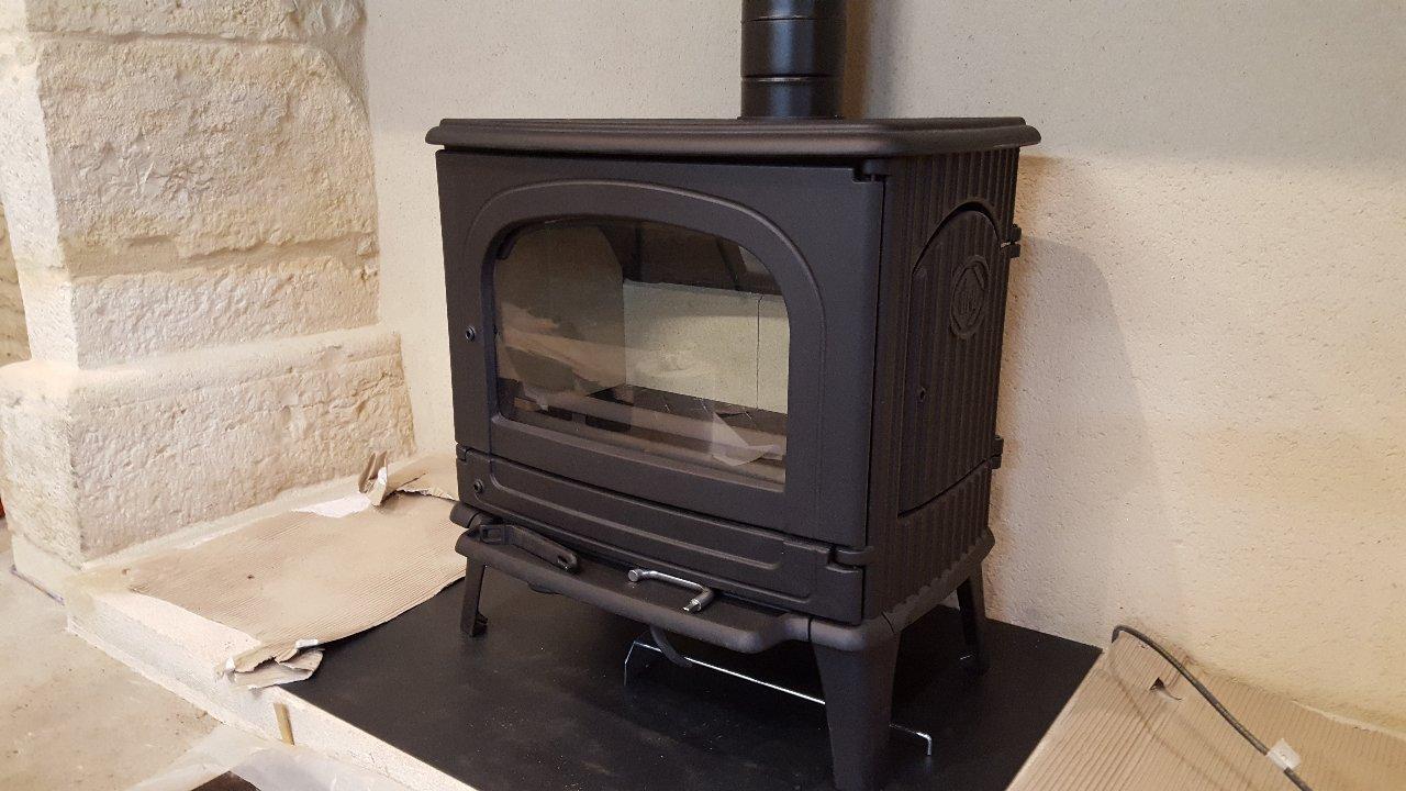 Fonte Flamme CB78 près de Brive-la-Gaillarde   Airselect